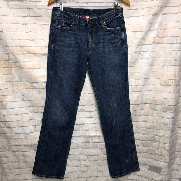 Lucky Brand Denim - Lucky Brand Classic Rider Distressed Jeans 6/28